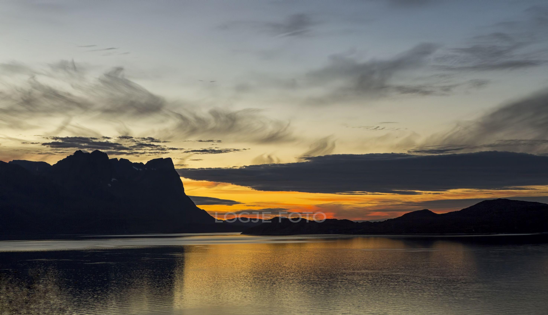 Sunset in Kvænangen