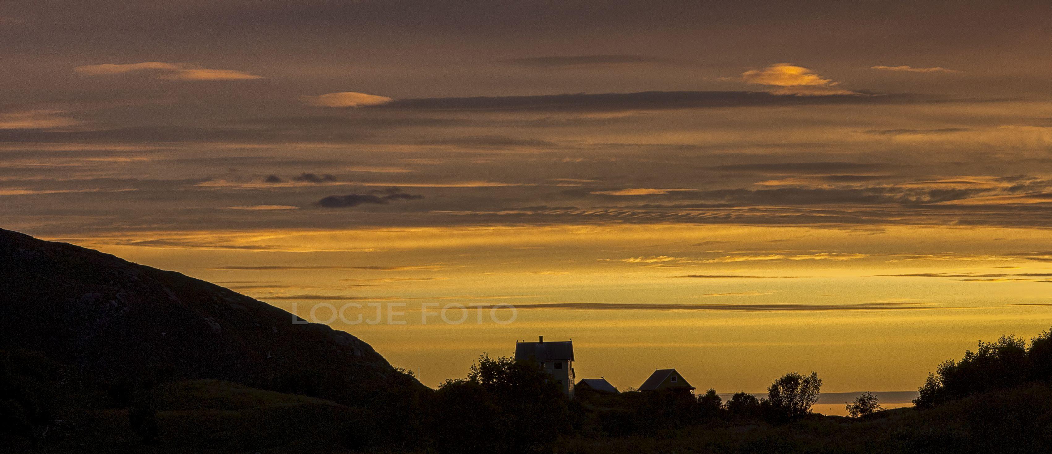 Sunset in sommarøy #1